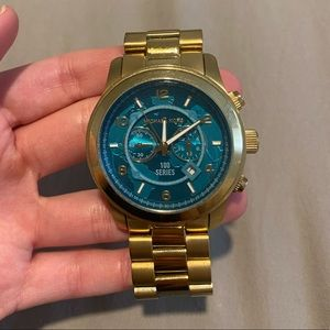 Hunger Stop 100 Turquoise Women's Watch 45mm